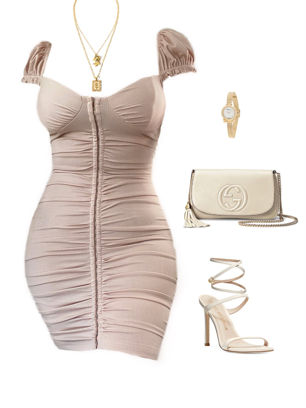 Jenny Dress - Blush