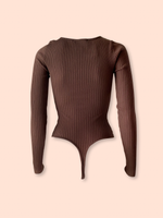 Kris Bodysuit - Brown
