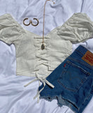 Zara Top - Off White