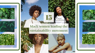 15 BLACK WOMEN AT THE FOREFRONT OF THE SUSTAINABILITY MOVEMENT