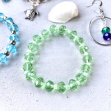 Crystal Beach Sparkle Bracelet | Green