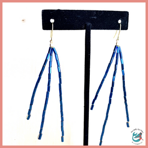 Destin Beach Blue Sparkler Earrings