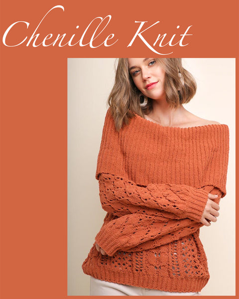 Chenille Knit