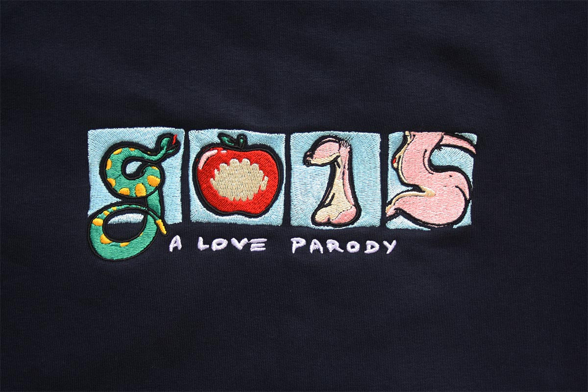 A Love Parody Embroidered Sweater - G015