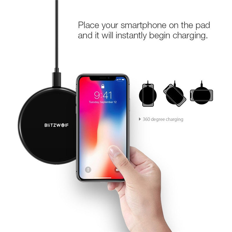 Wireless Charger For iPhone Samsung