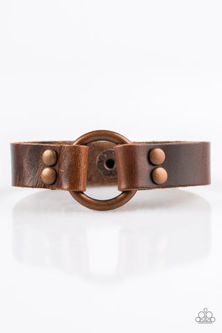 PAPARAZZI BRACELET-Urban Outlaw - Copper