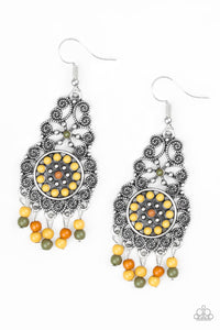 PAPARAZZI EARRINGS-Courageously Congo - Multi