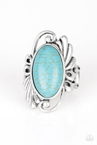 PAPARAZZI RING-Sedona Sunset - Blue