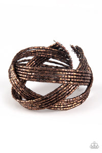PAPARAZZI BRACELET-Shooting Stars - Copper