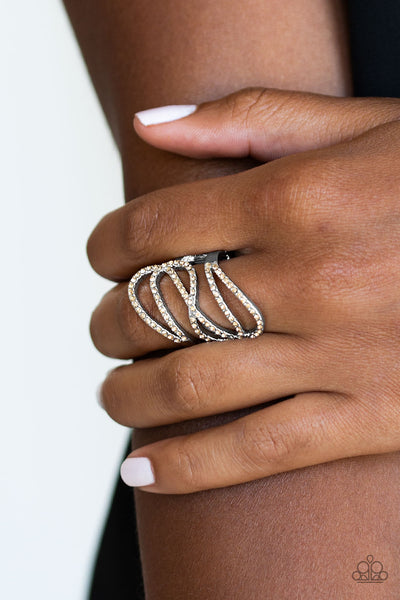 PAPARAZZI RING- Chasing Starlight - Brown