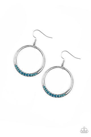 PAPARAZZI EARRINGS-Morning Mimosas - Blue