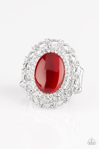 PAPARAZZI RING-BAROQUE The Spell - Red