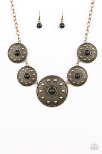 PAPARAZZI NECKLACE- Hey, SOL Sister- BLACK