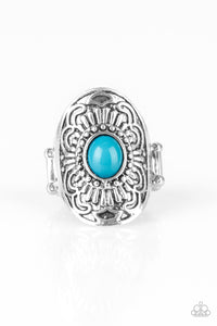 PAPARAZZI RING- The ZEST Of The ZEST - Blue