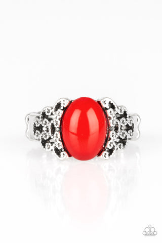 PAPARAZZI RING-Princess Problems - Red