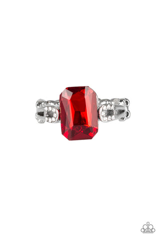 PAPARAZZI RING-Feast Your Eyes - Red