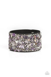 PAPARAZZI BRACELET-Crush Rush - Purple