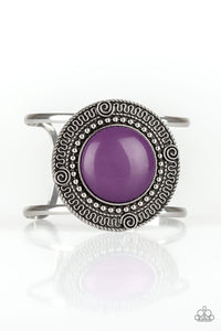PAPARAZZI BRACELET- TRIBAL POP- PURPLE