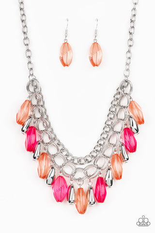 PAPARAZZI NECKLACE- SPRING DAYDREAM-  MULTI
