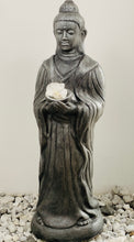 Load image into Gallery viewer, STATUE STANDING BUDDHA w/ BOWL 100x32x30cm