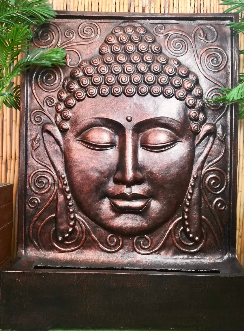 BUDDHA FACE WATER FEATURE 150CM