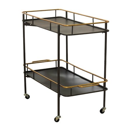CART DOUBLE SHELF (FAIGA)