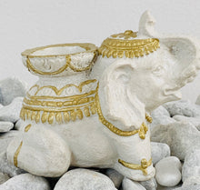 Load image into Gallery viewer, Elephant tea light / incense holder