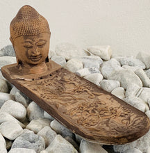 Load image into Gallery viewer, Buddha head incense stick holder