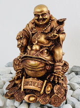 Load image into Gallery viewer, 30cm Buddha On Frog