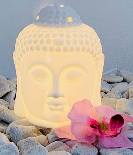 ELECTRIC OIL BURNER BUDDHA HEAD