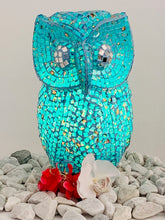 Load image into Gallery viewer, MOSAIC OWL LAMPSHADE 30CM