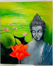 Load image into Gallery viewer, BUDDHA PAINTING 100X120CM