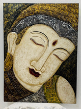 Load image into Gallery viewer, BUDDHA CARVED PANEL