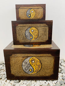 YIN AND YANG TRUNK SET OF 3