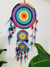 Load image into Gallery viewer, DREAMCATCHER TRIPLE RAINBOW