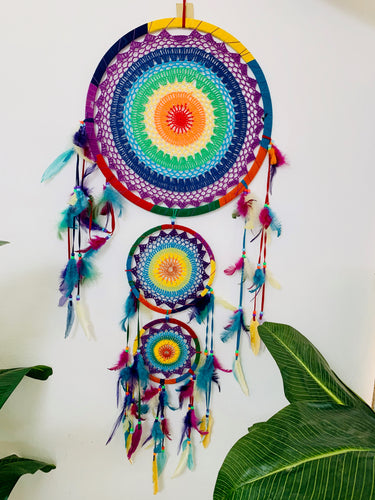 DREAMCATCHER TRIPLE RAINBOW