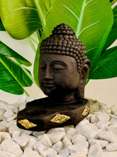 Load image into Gallery viewer, BUDDHA HEAD CANDLE STATUE 24CM X 15CM X 20CM