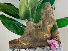 Load image into Gallery viewer, DEWI TARA STATUE RESTING POSE 35CM X 43CM