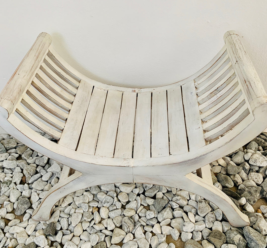 YUYU CHAIR PAINTED (WHITE WASH)
