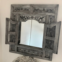 Load image into Gallery viewer, PRISON MIRROR PAINTED GREY/SILVER BLACK
