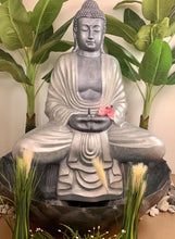Load image into Gallery viewer, Meditating buddha fountain 120cm