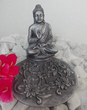 Load image into Gallery viewer, INCENSE STICK HOLDER ROUND - BUDDHA