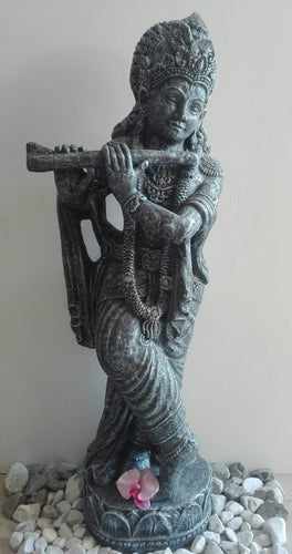 STANDING KRISHNA WITH FLUTE 115CM
