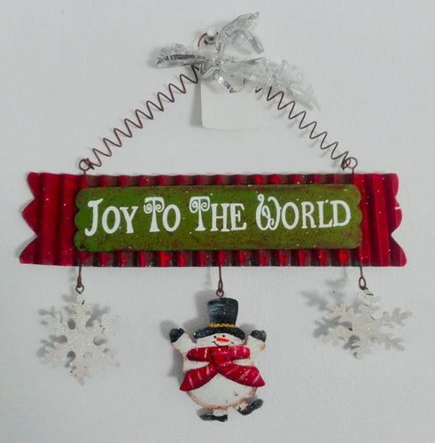 Joy To the World Wall Hanging