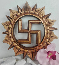 Load image into Gallery viewer, Hindu Swastika 25cm
