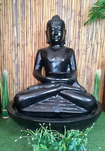 CAESARSTONE BUDDHA SEATED WATER FEATURE