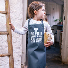 Load image into Gallery viewer, Personalized Little Chef Children's Apron