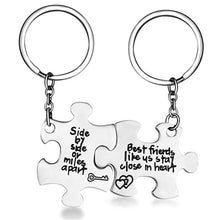 Load image into Gallery viewer, Jigsaw Friendship Keychain