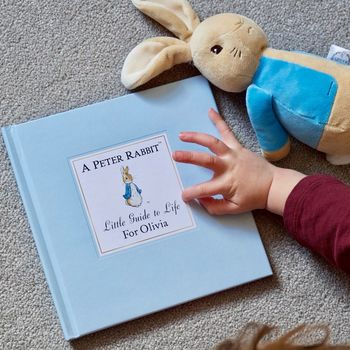 Personalised Peter Rabbits Little Guide To Life
