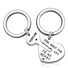 Load image into Gallery viewer, Key To My Heart Key Ring